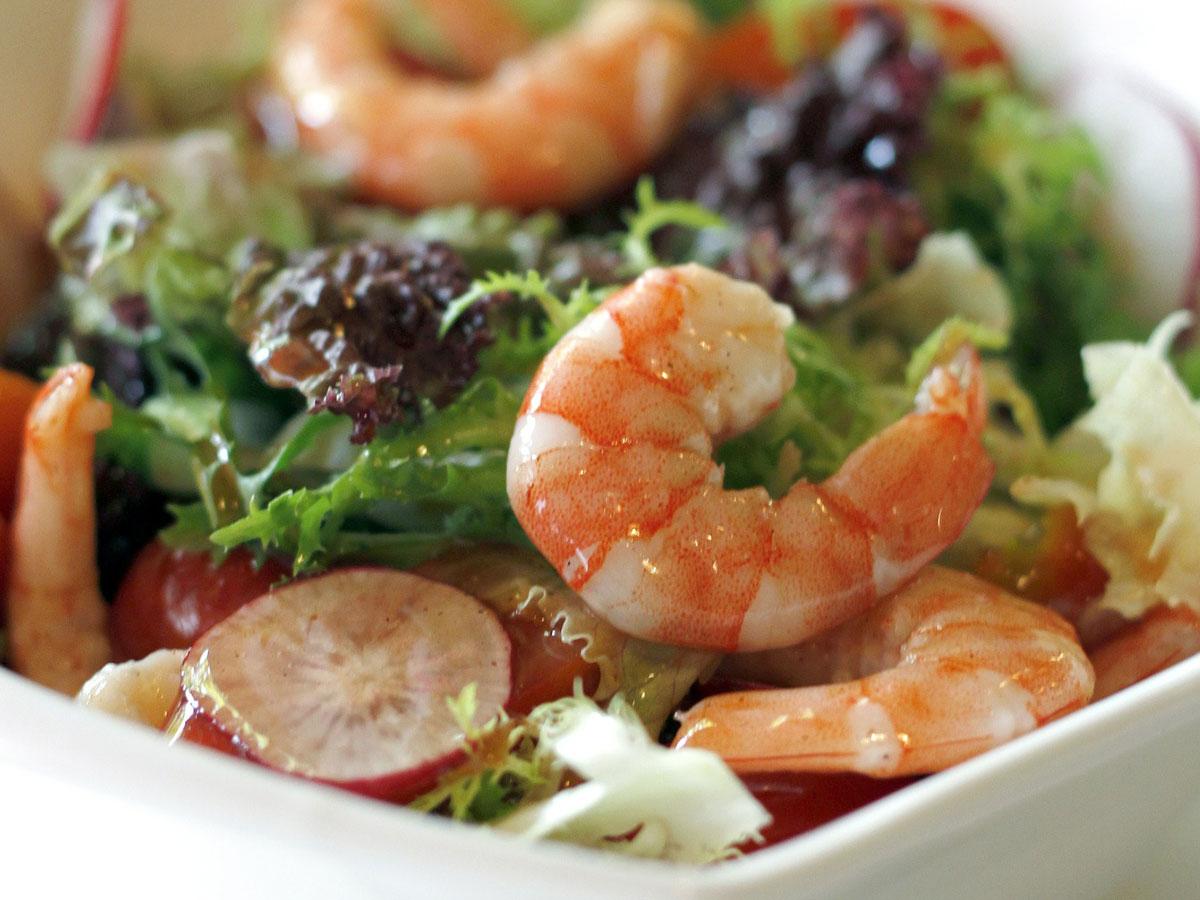 Для похудения морепродукты